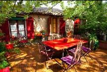 Gardens & Outdoor Spaces / Inspiring gardens of all shapes and sizes and envious living spaces within them. / by Manic Trout