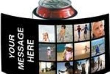 Use your Instagram photos / Fotofast has the biggest range (200+) of special templates to show off your Instagram photos!