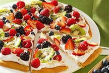 Dessert Pizza's / by Rose Daniel - Fitness Foodie Mom Life