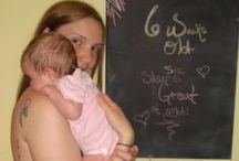 Baby Girl Chalkboard Update! / by Rose Daniel - Fitness Foodie Mom Life