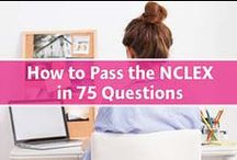 NCLEX Tips / NCLEX study tips to help you prep for the exam!