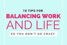 Creating Work/Life Balance / Maintaining a work/life balance can be tough, but here are some tips and tricks that will help you do so with ease! / by Chamberlain College of Nursing