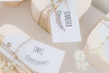 WEDDING: *favors*