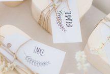 WEDDING: *favors*