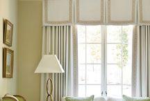 window treatments / by Michele Scott