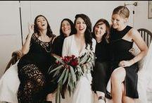 WEDDING: *romantic moody black*