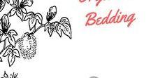 Organic Bedding / #organiccotton #organiclinen #organicbedding #organicsheets #organic