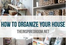 Organization / My never-ending desire to be continually organized.  It's work but once something is organized the feeling is amazing.  Organizational tips for every area of your life.  Trying to keep the hoarding to low levels LOL.  Enjoy! / by Blanca Rosado-Diaz