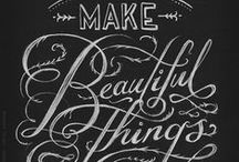 typographically speaking / typography, stylized lettering, printed type