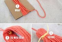 DIY: Yarn / knitting, crochet, and other projects that involve yarn.
