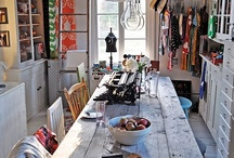 Farmhouse - Sewing Room / Ideas &  Inspirations / by The Farm on Kenyon Road