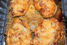 num nums / Cream cheese sausage balls    / by Janice Horton Fox
