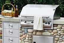 BBQ Time / Recipes for the grill and grill cleaning tips / by Kathy Shearer
