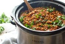 Recipes: Slow cooker vegetarian / by Dianna