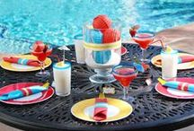 BEACH -- POOL PARTY / Ideas for a Beach party--Pool party.. Food,drinks,decorating, party fun / by Kathy Shearer