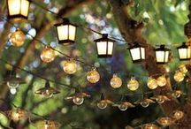 Outdoor lighting ideas / by Kathy Shearer
