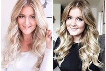 Hair inspiration / Frisyrer, håruppsättningar och tips från vår hårbloggare Elin