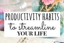Productivity / Never waste time, always accomplish something!