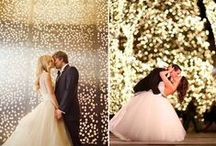 Wedding Lighting Guide and Design / Get inspired with these stunning wedding lighting ideas and products.  Learn how to use Christmas lights throughout your wedding display to create a magical and memorable event.