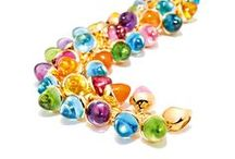 CANDY / Iconic TAMARA COMOLLI iconic Color Story - CANDY. A large selection of gemstones set in 18K yellow gold or rose gold. Vibrant colors, spreading the pure joy of living.