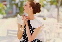 Fashion - 1950's / The women of the 1950's dressed with such class. So graceful and elegant.  / by Candy Mapela