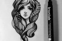Design - Illustrations & Characters / Inspirational illustrations, drawings and characters.
