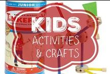Kids - Activities and Crafts / Ideas for fun and/or educational things to do with kiddos!