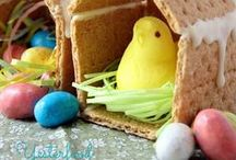 Easter / Easter time and images and ideas. #Easter #Bunny #Eggs