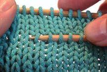 Knit + Crochet / Knitting or crochet patterns, tutorials & help! :)