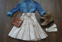 My style ideas / from my closet...