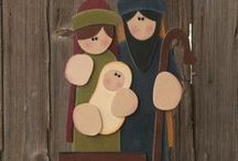 christmas nativity / by Terry De Boer
