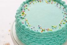 Cake Love / A party without a cake is just a meeting! Great ideas for cakes, cupcakes, and baking goodness!