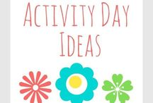 LDS Activity Day Girls / Ideas for Activity Day leaders.