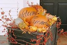 Fall decor & Halloween / by Restoring Our Victorian House