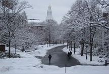 New England Winters / Winter in Boston and surrounding areas