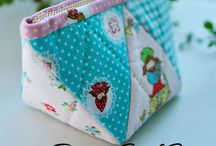 Bags & Pouches & Baskets / Ideas and tutorials for making bags, pouches, purses, baskets, wallets, pencil cases, cans, etc...