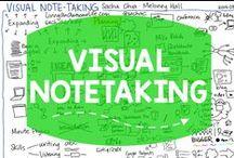 Visual Notetaking / Ideas for visual notetaking and sketchnoting