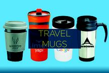 Promotional Travel Mugs / You want to get your brand on a promotional product that's guaranteed to get plenty of mileage and exposure, right? Introducing promotional travel mugs, your brand's first-class ticket to impressions.