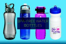 BPA-Free Water Bottles / The next time your customers reach for a refreshing gulp of their favorite drink, they'll be reminded of your awesome brand. How? With a cool water bottle branded with your company name and logo. Not only are these bottles easy on the eyes, but they are also uniquely free of the BPA chemical, which is found in many beverage containers.