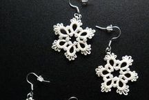 Tatting-Chiacchierino-Frivolité / Great ideas, tutorial, examples of artwork made by tatting lace (chiacchierino).
