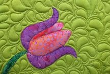 Quilting & FREE MOTION / Inspirational, examples, patterns and art works... alla bout quinting and free motion quilting!