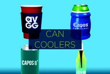 Promotional Can Coolers / Promotional can coolers are a fun and unique way to gain some serious brand exposure. By getting your logo custom printed onto a trendy custom can cooler, your audience will literally be getting their hands on your brand!