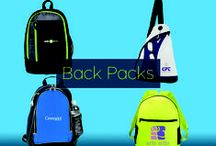 Promotional Backpacks / Get a custom branded bag that will please everyone from the school student, to the thrill-seeking adventurer. At the same time, you can easily develop brand and business awareness without the bulk of traditional advertising. Carry your brand to new places with custom backpacks! / by Pinnacle Promotions