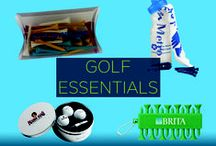 Promotional Golf Essentials / Your customers are sure to have a winning golf game when they have your brand on their team. WIth custom branded promotional golf products, customers will have the equipment and even the look to swing into action. Meanwhile, you will keep your brand fresh in their minds.