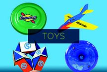 Promotional Toys / Pep up playtime and promote your brand at the same time. Your custom branded promotional toys will appeal to kids and grown-ups alike, as well as generate brand awareness and visibility in a quirky way.  / by Pinnacle Promotions