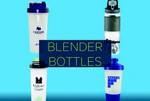 Promotional Blender Bottles / Customers can make their drink shakes on the go, without the mess using these handy blender bottles. Mix together convenience and branding opportunity, and you get a winning, marketing solution.