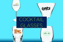 Promotional Wine and Cocktail Glasses / Your customers will savor their glass of wine right down to the last sip, when they drink from these glasses custom printed with your branding.  You can't have a better pairing with a fine glass of wine than your own brand. In no time, you will enjoy the sweet taste of marketing success.