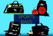 Promotional Sports Bags / Whether they are at the gym, on the court, or on the field, customers will be geared up for a solid workout. These strong, roomy, sports bags, when custom printed with your branding, will help customers keep their equipment and other belongings neatly organized, while successfully increasing your brand awareness.