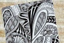 Zentangle-Related Finds / Whether patterns I want to remember, finished Zentangle and ZIA artwork, or random doodles that inspire new ideas, this board is a great place for gathering amazing discoveries.