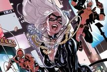 Black Cat / You Know, uh?  Good girls go to heaven, but bad girls go everywhere.  #Marvel #Black cat